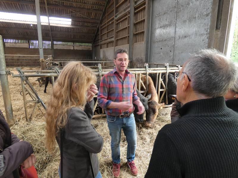 visite de la ferme Arend